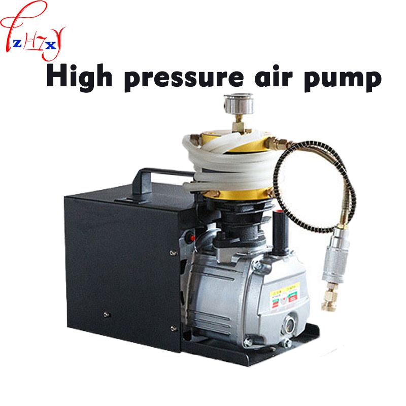 High pressure Electric air pump hardcover version 30Mpa single cylinder water-cooled high pressure air pump 110/220V 1PC