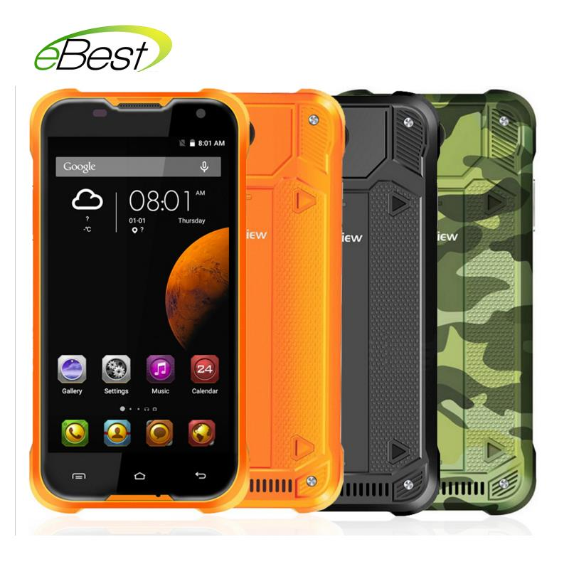 Цена за Blackview BV5000 5.0 дюймов Android 5.1 4 Г LTE Мобильные Телефоны Водонепроницаемые HD Quad Core 2 ГБ RAM 16 ГБ ROM 8MP Dual Sim 4780 мАч