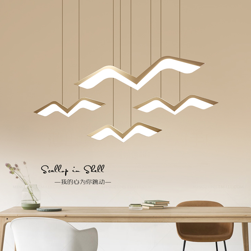 Image 5 - NEO Gleam Modern Led Pendant Lights For Dining Living Room Bar suspension luminaire suspendu Pendant Lamp Fixtures-in Pendant Lights from Lights & Lighting