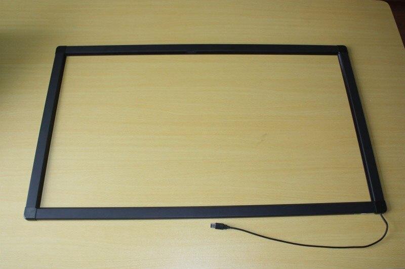 55 pulgadas usb 10 puntos IR pantalla táctil/Marco de pantalla táctil infrarrojo para mesa táctil, quiosco, etc. - 2