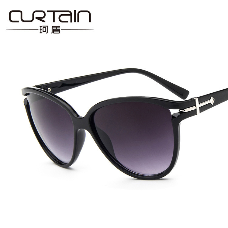 Cheap Sunny&Love Women sunglasses shade Cat Eye Sunglasses eyeglasses 100%UV Protection eye sunglasses Coating Vintage Sun glass