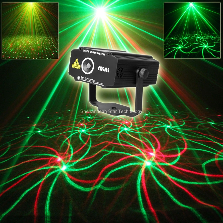 ESHINY Mini R&G Laser 2 Pattern Whirlwind Projector Club Party Bar Disco DJ Equipment Light Dance Party Stage Lights show N75P14 том пулс sonny berenice cuba club coolio beat nouveau dj bobo latino dance party 2009 2 cd