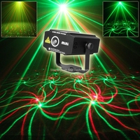 New 12 Patterns R G Mini Laser Projector Show Led Club Party Bar Disco DJ Equipment