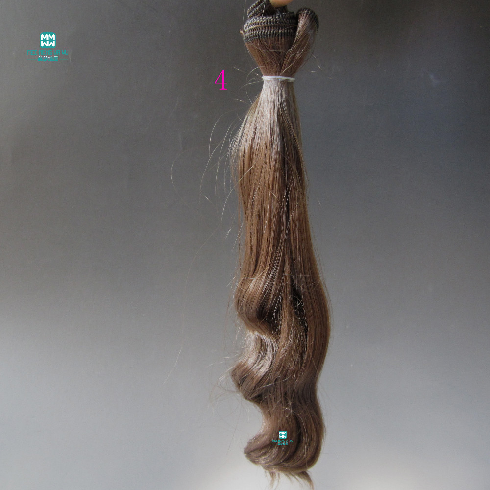 1pcs 20cm * 100CM grandes boucles de poupée accessoires perruques / - Poupées et accessoires - Photo 4