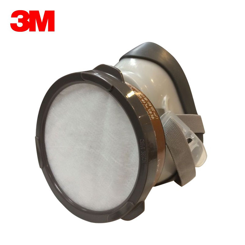 3M 1201 Reusable Half Face Mask Respirator Anti Dust/Organic gas/Paint mist Mask VEN004 2017 new full face gas mask cartridge organic vapor respirator mask spray paint anti dust formaldehyde fire comparable 6800