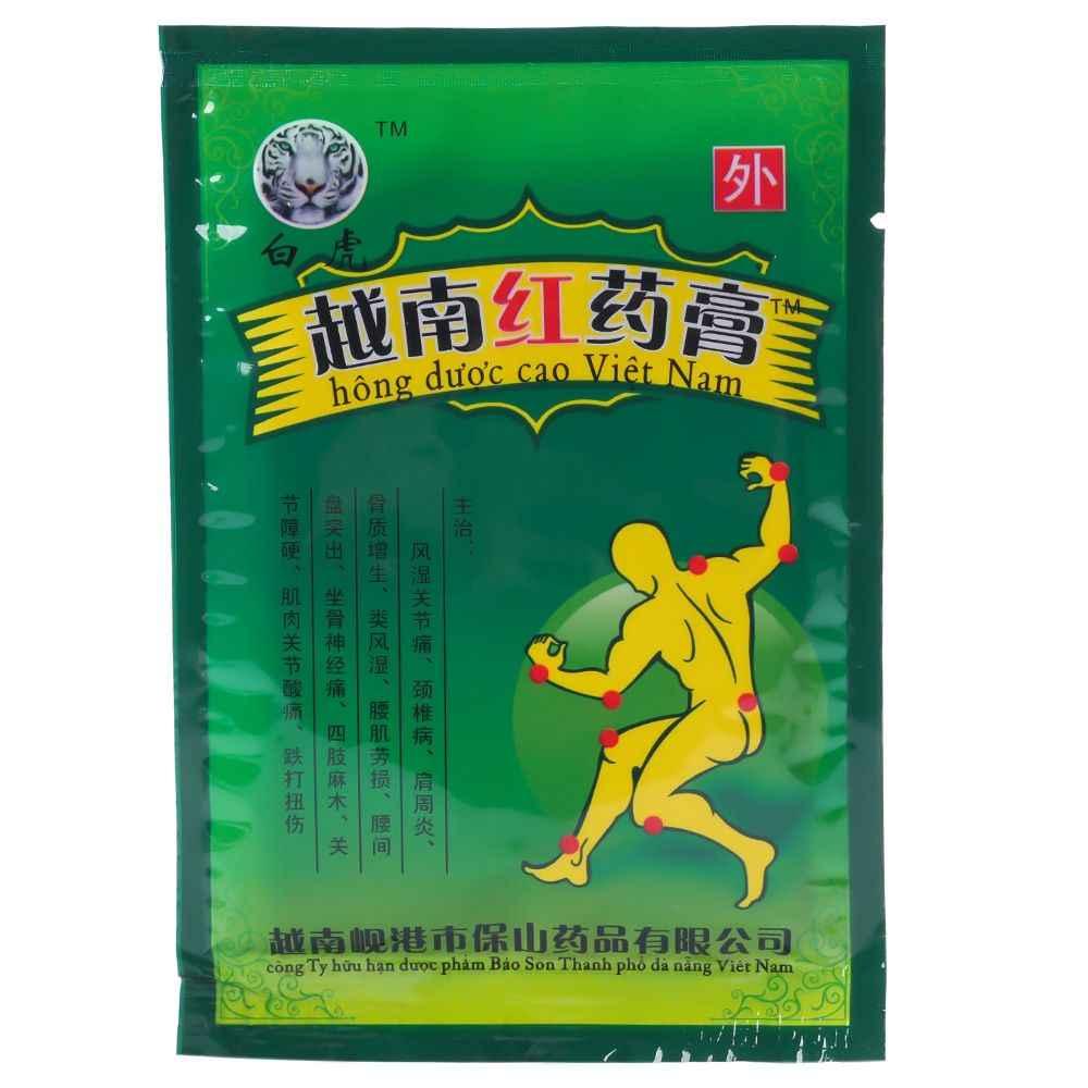 8 pièces Vietnam rouge tigre baume retour corps Relaxation à base de plantes plâtre soulagement de la douleur Patch médical plâtre pommade articulations livraison directe