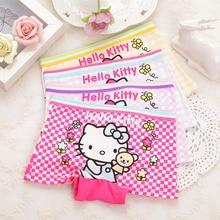 Girls Underwear Briefs Boxers Baby Infantil Kids Children Printing Calcinha Cotton 4pcs/Lot