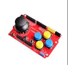 1PCS   Gamepads JoyStick Keypad Shield PS2 for Arduino nRF24L01 Nk 5110 LCD I2C