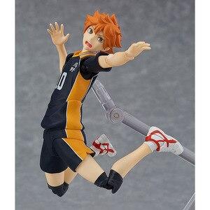 Image 5 - Haikyuu!! Volleyball Athlete Hinata Syouyou Shoyo Figma 358 PVC Action Figure Collection Model Toys Doll