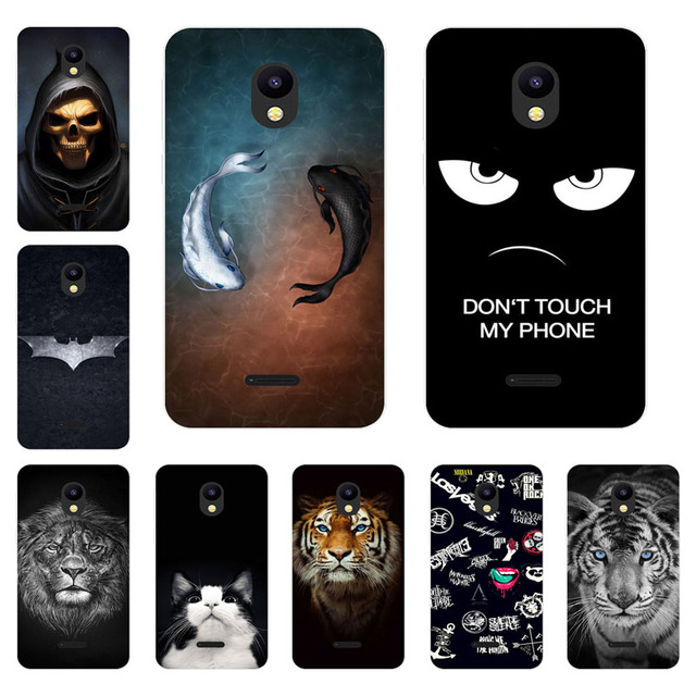 Meizu C9 Pro Case,Silicon Gossip Fish Painting Soft TPU Back Cover for Meizu C9 Protect Phone Shell