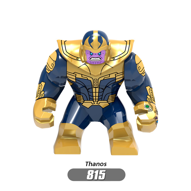 Superheros lEGOEDING Avengers Marvel Infinity War Iron Man Thanos Thor Black Panther Falcon Gamora Building Blocks toys WY30 in Blocks from Toys Hobbies