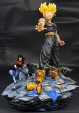 VENTILADORES MODELO de Dragon Ball Z el mismo párrafo MRC 37 cm futuro Troncos VS Android resina gk figura de acción de juguete para colección