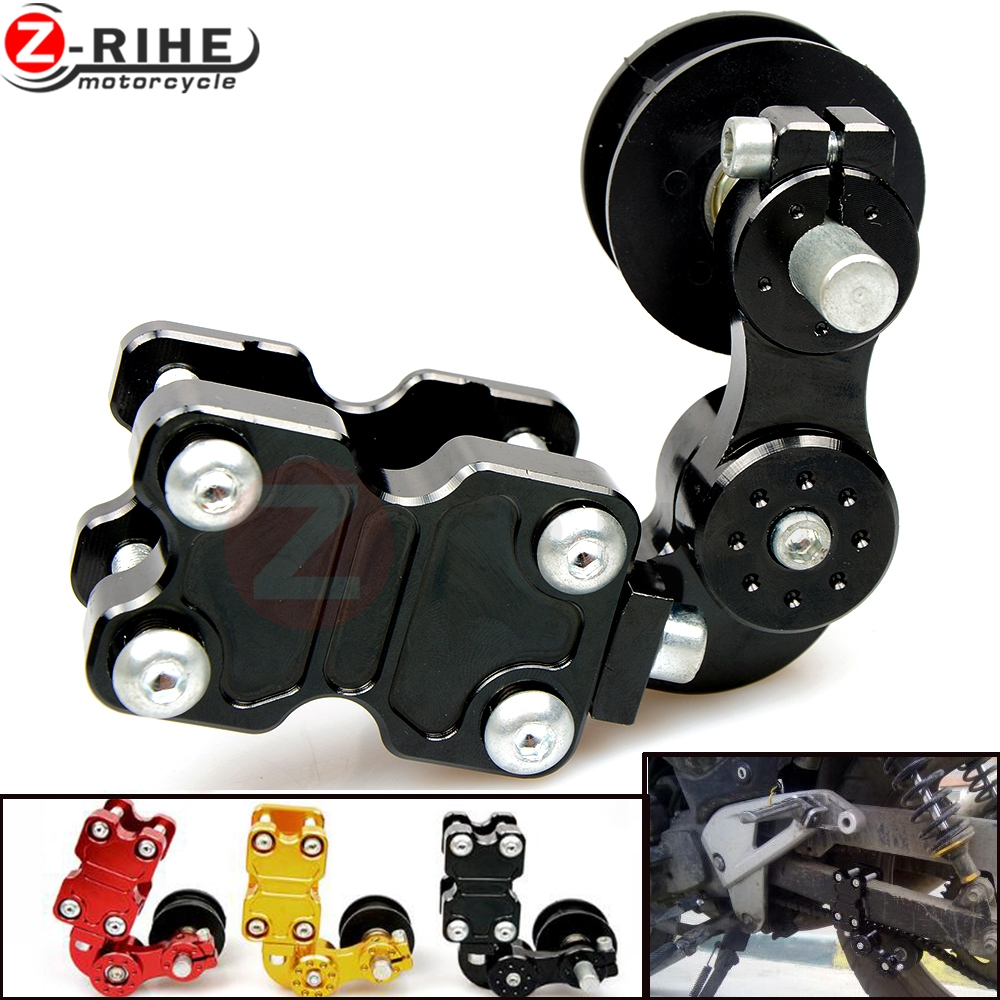 Motorcycle refires pieces motorcycle chain auto tensioner rubber chain tensioner Aluminum for yamaha kawasaki honda ktm ducati ...