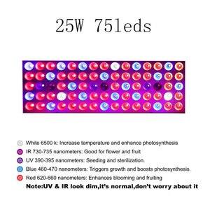 Image 2 - Diodo emissor de luz cresce a luz 1000w 25 50 espectro completo fitocampy para flores alface semeadura estufa crescer tenda planta crescer led phyto lâmpada