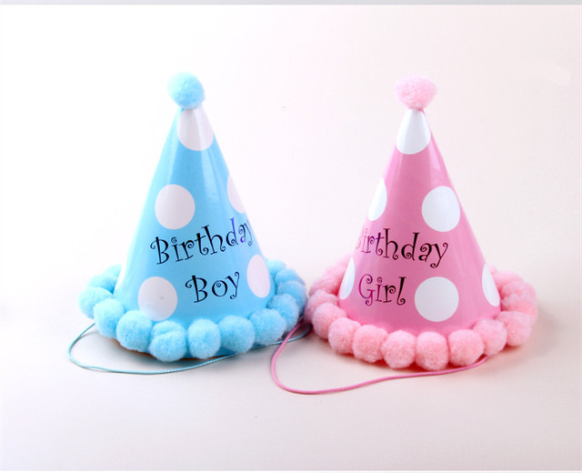 Birthday Party Supplies Boys And Girls Lovely Hat Children Rainbow Ball Cap