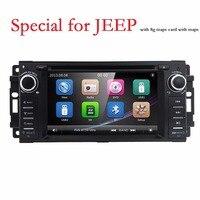 Hizpo HD головное устройство DVD плеер автомобиля для джип Patriot Compass/DODGE Journey/Chrysler Sebring gps навигации радио стерео rds система географические карты BT