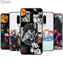 Coldplay John Martin Black Case for Oneplus 7 7 Pro 6 6T 5T Silicone Phone Case for Oneplus 7 7Pro Soft TPU Cover Shell