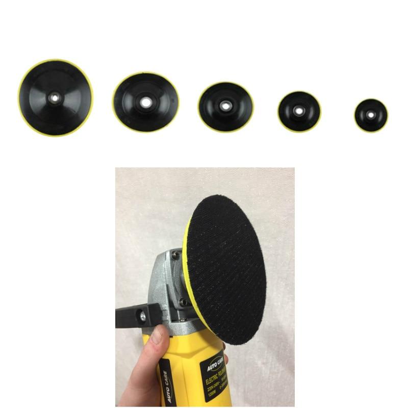 1pcs 3/4/5/6/7inch Polishing Buffing Waxing Pad Accessories Polishing Pad Polishing Plate M14 Connector Drill Car Polisher