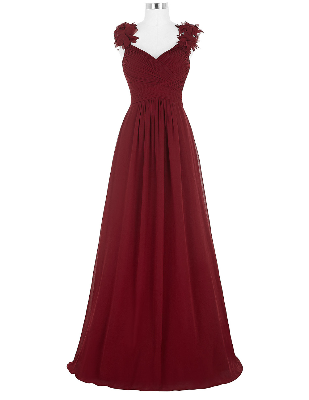 Online buy wholesale burgundy evening gowns from china for Formal dresses for weddings cheap