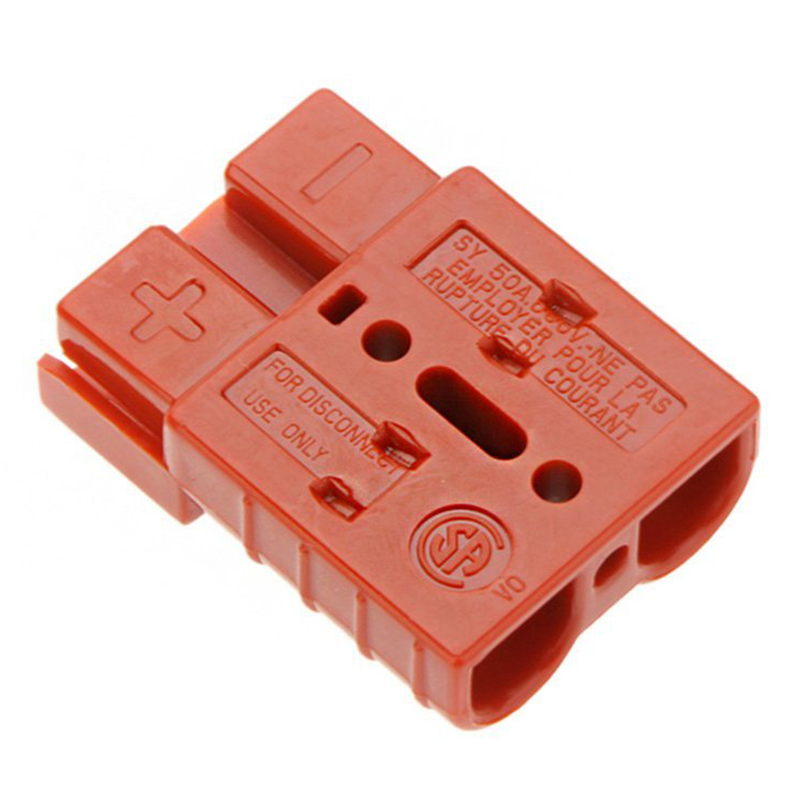Charger socket 50A battery connector / quick disconnection wiring harnesses trailer Winch connector kit red