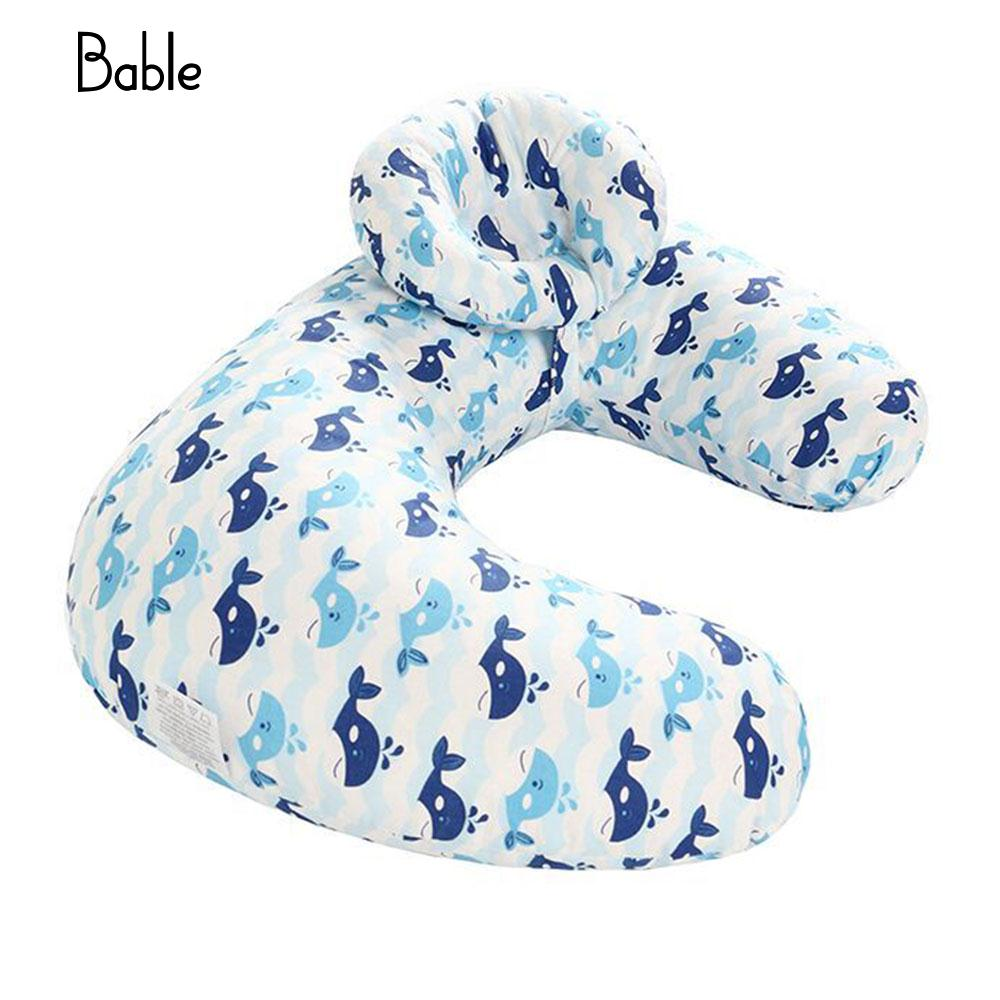 Breast Babies Pillow Baby Feeding Pillow Soft Multi-Function Nursing Pillow Cotton Toddl ...