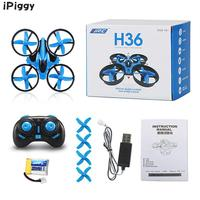 JJRC Mini DroneH36Speed Switch One Key Return Function RTF LED Light Dron 4CH 6 Axis Gyro RC Quadcopter with Headless Mode/