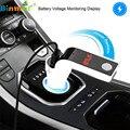 Coche MP3 Coche Reproductor de Audio Sin Bluetooth FM Reproductor de Música MP3 Trasmettitore Modulador Dual de Carga USB SD MMC Remoto N1213