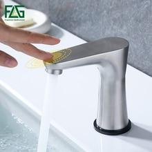FLG Touch Control  Basin Faucets Stainless Steel Sensor Sensitive Bathroom Faucet New Design Smart Tap