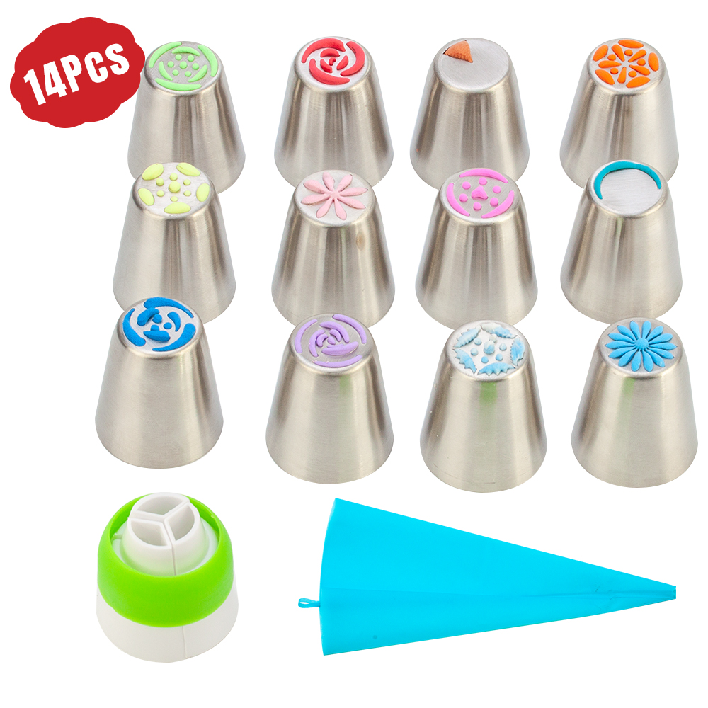 Flower-Shaped Frosting Nozzles 1