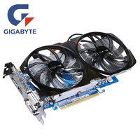 GIGABYTE GV N65TBOC 1GD Video Card 192Bit GDDR5 GTX650Ti Graphics Cards For NVIDIA Geforce GTX 650