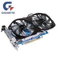 GIGABYTE GV N65TBOC 1GD Video Card 192Bit GDDR5 GTX650Ti Graphics Cards For NVIDIA Geforce GTX 650