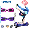 IScooter Hoverboard Electric Skateboard With Bluetooth And Remote Smart Two Wheel Self Balance 6 5 Inch