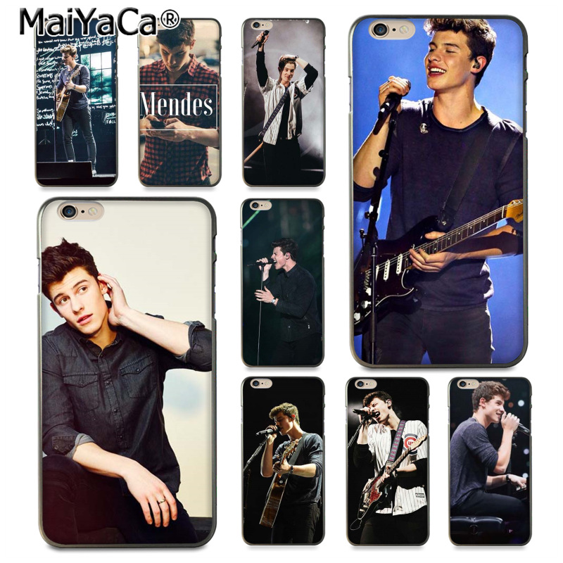 MaiYaCa Hit pop singer Shawn Mendes Magcon Pattern Phone Case for iPhone 8 7 6 6S Plus X 10 5 5S SE 5C Coque Shell