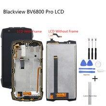 Дисплей сменный экран для Blackview BV6800 Pro ЖК-дисплей Сенсорный экран 5,7 дюйма черный для Blackview BV6800 Pro Сенсорный экран