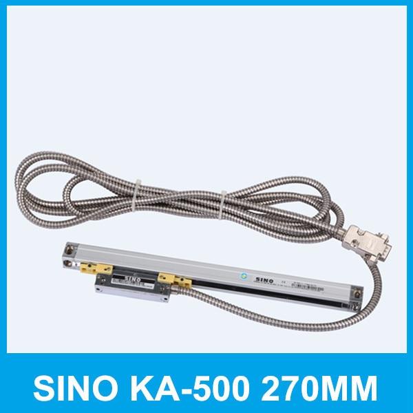 Free shipping SINO KA 500 270mm 5um digital read out KA500 0 005mm 270mm linear glass