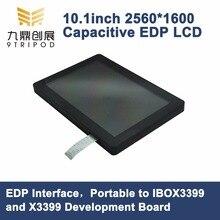 10.1 дюймов емкостный сенсорный ЖК-дисплей 2560*1600 Разрешение Панель EDP Интерфейс Портативный к ibox3399 x3399 развитию
