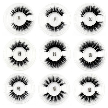 LEHUAMAO Mink Eyelashes 3D Mink Lashes Thick HandMade Full Strip Lashes Cruelty Free Mink Lashes 13 Style False Eyelashes Makeup 2