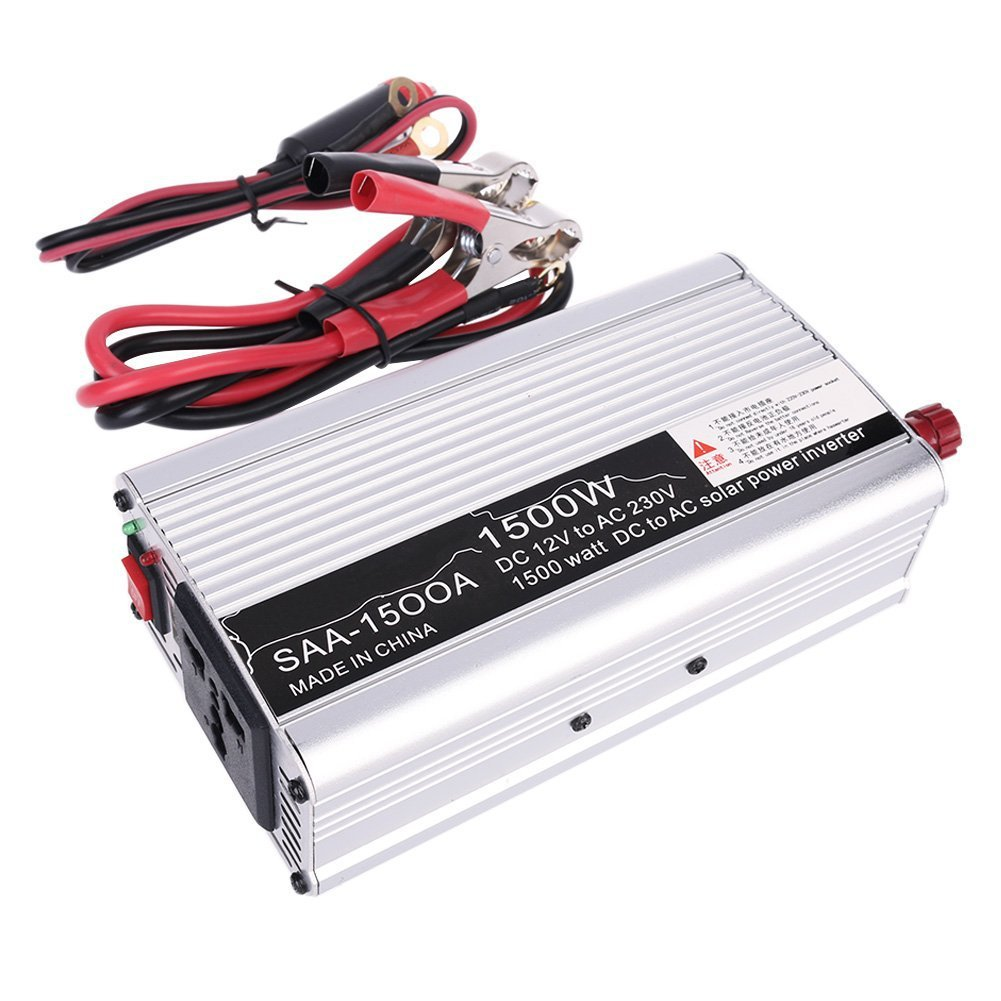 New 3000W Peak DC12V to AC 230V Solar Power Inverter Converter USB Output Stabl solar power on grid tie mini 300w inverter with mppt funciton dc 10 8 30v input to ac output no extra shipping fee