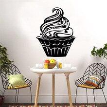 Custom ice cream Home Decor Modern Acrylic Decoration For Kids Room Living Wall Art Sticker Murals