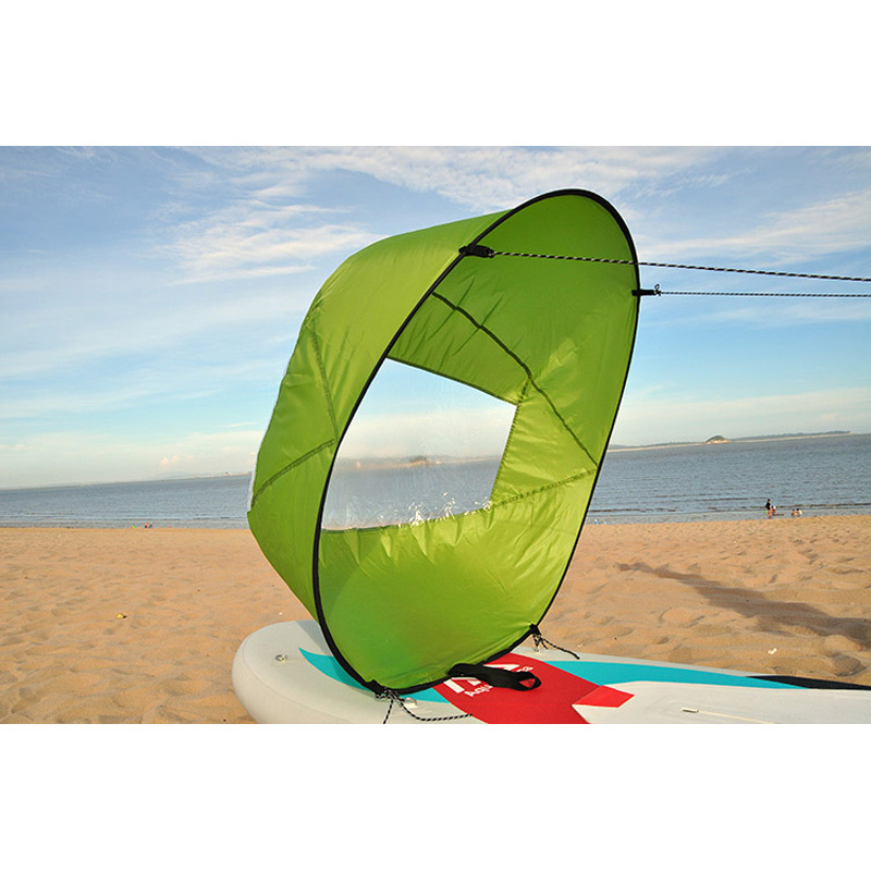 Einfach windsegel angetrieben power tasche für sup bord stand up paddle board surfboard kajak kanu schlauchboot faltbare A05007