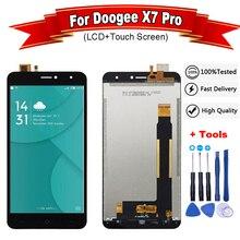 6,0 дюймов Для Doogee X7 Pro ЖК-дисплей и сенсорный экран дигитайзер сборка Замена для x7 lcd+ Бесплатные инструменты