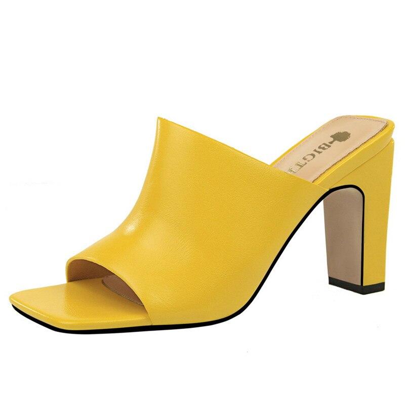 Femenina Sandalias Cuero 2019 Peep Zapatillas Mujer Fiesta silver Las gold Black white Oro Zapatos Moda Lujo De Cuñas flesh apricot Verano Mujeres pink Blanco Toe Para wUaIqaXrn