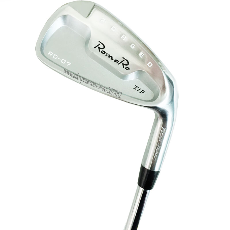 New Golf Clubs RomaRo RD-07 Golf Irons 4-9P Irons Set Clubs Steel Shaft R Or S Golf Shaft Cooyute Free Shipping