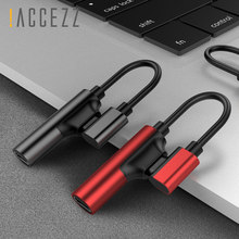 !ACCEZZ 2 IN 1 Dual Lighting Charging Listening Adapter For Iphone XR XS MAX 8 7 Plus Earphone Audio Calling Jack AUX Splitter(China)