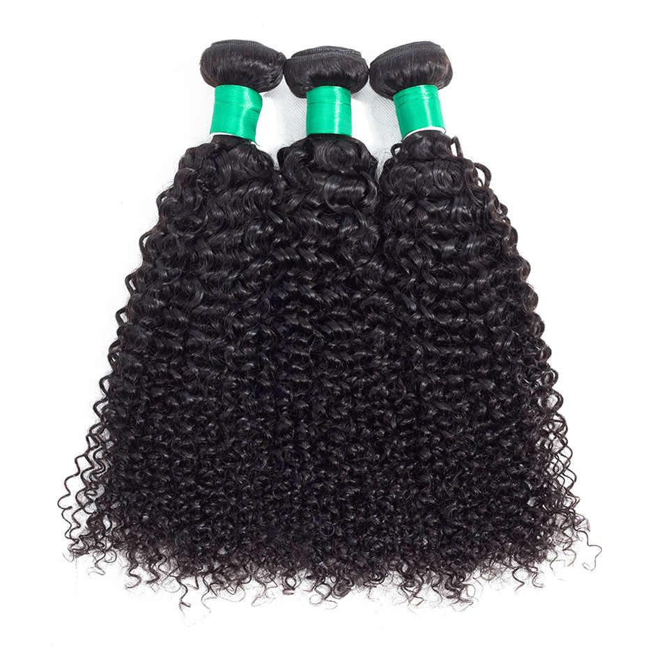 Габриель малазийские кудрявые вьющиеся 13x4 кружева фронтальное Закрытие с 3 пучками натуральный цвет 8-28 дюймов не Реми человеческие волосы 4 шт./партия