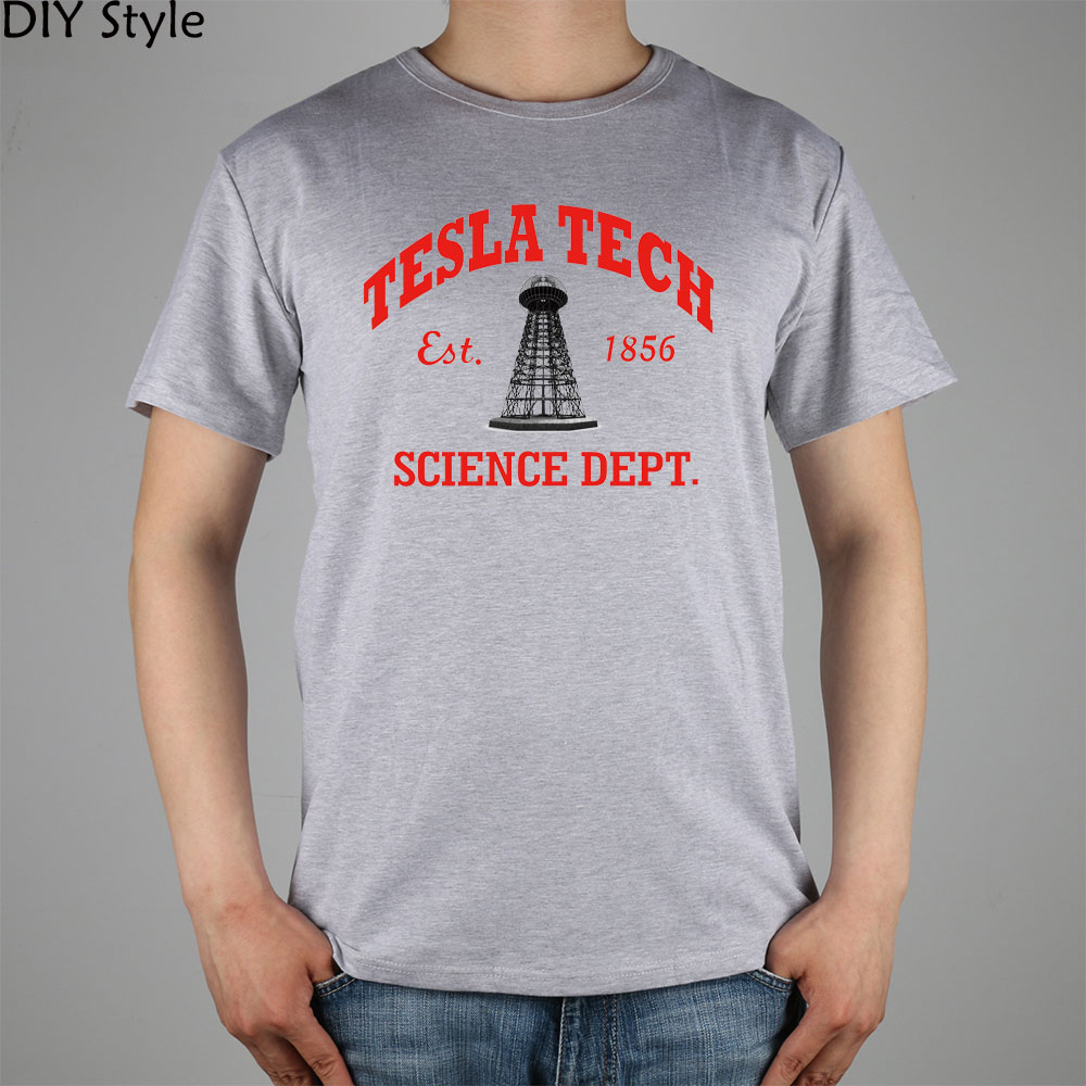TESLA GWC KK TECH SCIENCE camiseta Top Lycra algodón Hombres - Ropa de hombre - foto 1