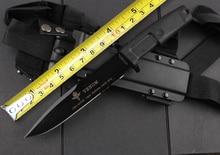 Новейший яд фиксированный нож для выживания резиновая ручка охотничий тактический нож открытый Прямые ножи лагерь EDC Мульти инструменты