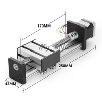 Бесплатная доставка 100 мм ударный мяч винт с ЧПУ линейная направляющая для лазерной резки