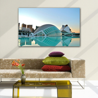 Valencia City Of Art Science Modern Wall Home Decor Pictures Art Print Painting On The Canvas