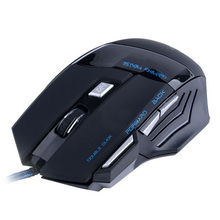CAA-Hot 3200 DPI 7 Button LED Optical USB Wired Gaming Mouse Mice computer mouse For Pro Gamer